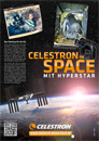 Celestron in Space Anzeige