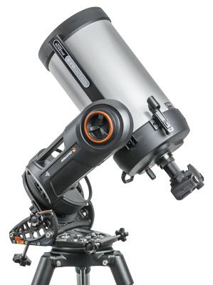 Polhöhenwiege am Beispiel des NexStar 8 Evolution